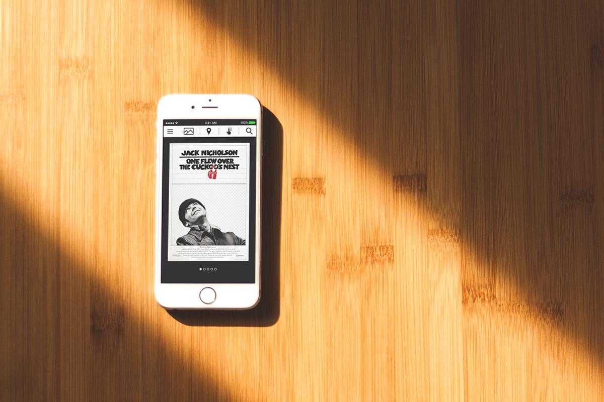 Film Museum Mobile App Concept